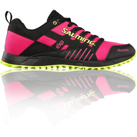 Salming W's Trail T4 Shoes Black/Fluo Pink